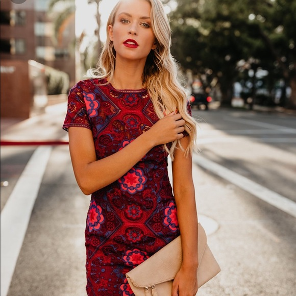 eb6916474de Vici Dresses   Kodiak Crochet Dress   Poshmark